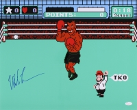 """Mike Tyson Signed """"Mike Tyson's Punchout"""" 16x20 Photo (JSA COA) at PristineAuction.com"""