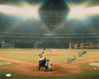 """Hank Aaron Signed Braves """"715th Home Run"""" 16x20 Photo (JSA COA) at PristineAuction.com"""