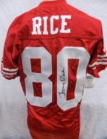 Jerry Rice Signed 49ers Wilson Pro Line 1994 NFL 75th Anniversary Jersey (JSA) at PristineAuction.com