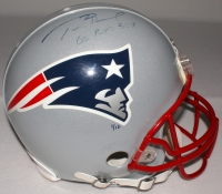 """Tom Brady Signed LE Patriots Full-Size Authentic Pro-Line Helmet Inscribed """"Go Red Sox"""" (TriStar & PSA) at PristineAuction.com"""