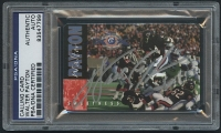 Walter Payton Signed Bears 1st Edition 1995 Phone Calling Card (PSA Encapsulated & Payton Hologram) at PristineAuction.com