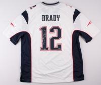"Tom Brady Signed Patriots LE Jersey Inscribed ""3x SB MVP"" (TriStar COA & Steiner Hologram) at PristineAuction.com"
