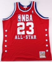 Michael Jordan Signed Mitchell & Ness Authentic On-Court Bulls 1989 All-Star Game Jersey (UDA COA) at PristineAuction.com