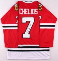 "Chris Chelios Signed Blackhawks Jersey Inscribed ""HOF 13"" (JSA COA) at PristineAuction.com"