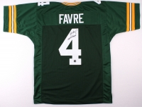 """Brett Favre Signed Packers Jersey Inscribed """"SBXXXI Champs!"""" (Favre COA) at PristineAuction.com"""