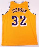 Magic Johnson Signed Lakers Jersey (JSA COA) at PristineAuction.com