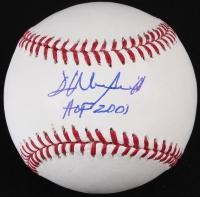 "Dave Winfield Signed OML Baseball Inscribed ""HOF 2001"" (JSA COA) at PristineAuction.com"