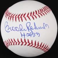 "Brooks Robinson Signed OML Baseball Inscribed ""HOF 83"" (JSA COA) at PristineAuction.com"