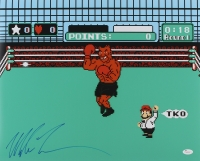 """Mike Tyson Signed """"Punch-Out"""" 16x20 Photo (JSA COA) at PristineAuction.com"""