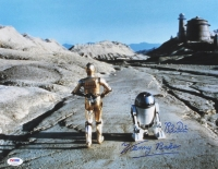 """Kenny Baker Signed """"Star Wars"""" 11x14 Photo Inscribed """"R2-D2"""" (PSA COA) at PristineAuction.com"""