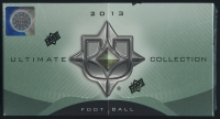 2013 Upper Deck Ultimate Collection Football Hobby Box with (4) Premium Cards at PristineAuction.com