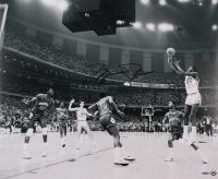 "Michael Jordan Bulls Signed ""UNC 17 Second"" 20x24 Photo (UDA COA) at PristineAuction.com"