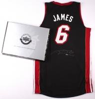 LeBron James Signed Miami Heat Authentic Adidas Away Jersey (UDA COA) at PristineAuction.com