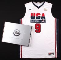 "Michael Jordan Signed Team USA ""Dream Team"" Nike Authentic Jersey Inscribed ""2009 HOF"" #31/109 (UDA COA) at PristineAuction.com"