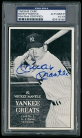 Mickey Mantle Signed New York Yankees Trading Card (PSA Encapsulated) at PristineAuction.com