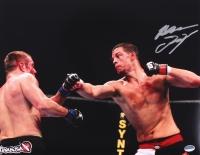 Nate Diaz Signed UFC 11x14 Photo (Sports Integrity COA) at PristineAuction.com