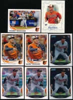 Lot of (8) Manny Machado Rookie Cards with (2) 2013 Bowman Chrome #205 RC, 2013 Bowman #215 RC, 2013 Topps Opening Day #172 RC, 2013 Topps #270A RC, 2013 Topps Allen and Ginter #120 RC & 2013 Topps Update #US216A at PristineAuction.com
