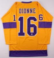 """Marcel Dionne Signed Kings Jersey Inscribed """"HOF 92"""" (JSA COA) at PristineAuction.com"""