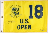 Jack Nicklaus Signed LE 2000 U.S. Open Pin Flag (UDA COA) at PristineAuction.com