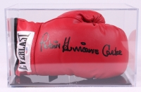 "Rubin ""Hurricane"" Carter Signed Everlast Boxing Glove with Display Case (PSA COA) at PristineAuction.com"