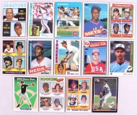 Lot of (14) Rookie Baseball Cards with Dwight Gooden 1985 Topps #620 RC, Don Mattingly 1984 Topps #8 RC, Derek Jeter 1993 Topps #98 RC at PristineAuction.com