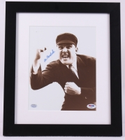 Al Barlick Signed 13x15 Custom Framed Photo Display (PSA COA) at PristineAuction.com