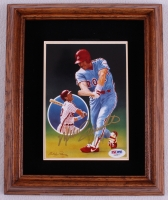 Mike Schmidt Signed LE Phillies 10x12 Plaque Display (PSA COA) at PristineAuction.com