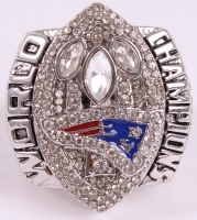 Tom Brady New England Patriots High Quality Replica 2004 Super Bowl XXXIX Championship Ring at PristineAuction.com