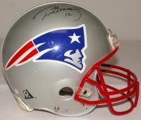 Tom Brady Signed Patriots Full-Size Authentic Pro-Line Helmet (JSA LOA) at PristineAuction.com