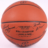 """Kobe Bryant Signed LE 2nd Championship Baskeball Inscribed """"2nd Ring"""" (Panini COA) at PristineAuction.com"""