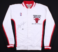 Michael Jordan Signed LE Authentic Mitchell & Ness Chicago Bulls Warm Up Jacket (UDA COA) at PristineAuction.com