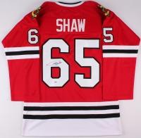 Andrew Shaw Signed Blackhawks Jersey (PSA COA) at PristineAuction.com