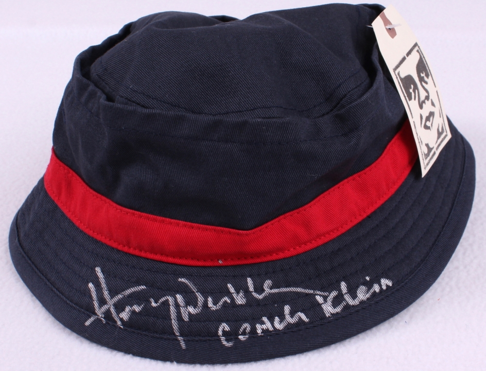 henry winkler signed waterboy bucket coaching hat. Black Bedroom Furniture Sets. Home Design Ideas