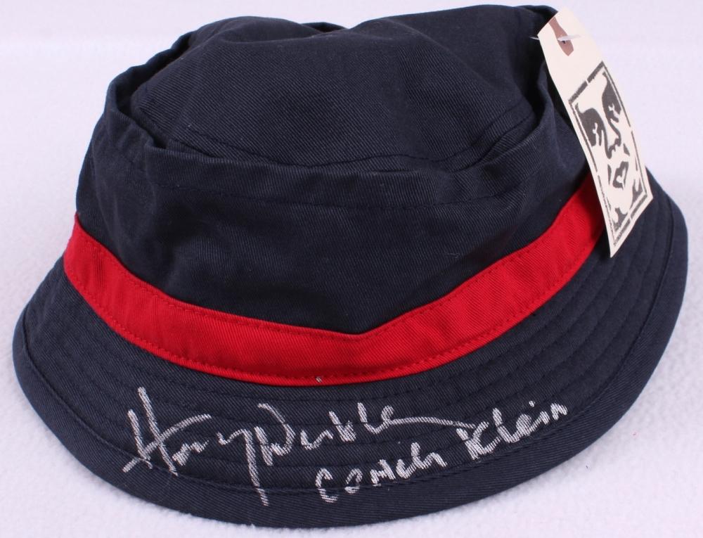 henry winkler signed waterboy bucket coaching hat inscribed coach klein schwartz coa at. Black Bedroom Furniture Sets. Home Design Ideas