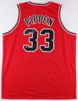Scottie Pippen Signed Bulls Jersey (Schwartz COA) at PristineAuction.com