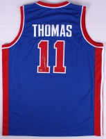 Isiah Thomas Signed Pistons Jersey (Schwartz COA) at PristineAuction.com