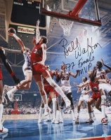 """Bill Walton Signed Trail Blazers 16x20 Photo Inscribed """"'77 Finals MVP"""" (Hollywood Collectibles COA) at PristineAuction.com"""