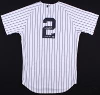 "Derek Jeter Signed Yankees Authentic Majestic Jersey Inscribed ""00 WS MVP"" (Steiner COA & MLB Hologram)"