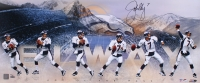 """John Elway Signed LE Broncos """"Art of the Pass"""" 15x36 Photo #12/50 (UDA COA) at PristineAuction.com"""