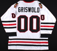 """""""Griswold"""" Blackhawks On-Ice Style Custom Stitched Jersey (Size XL) at PristineAuction.com"""