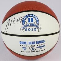 Jahlil Okafor Signed Duke Logo Basketball (Schwartz COA) at PristineAuction.com