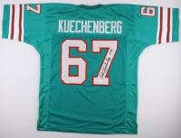 "Bob Kuechenberg Signed Dolphins Jersey Inscribed ""17-0"" (JSA COA) at PristineAuction.com"