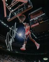Dominique Wilkins Signed Hawks 8x10 Photo (Schwartz COA) at PristineAuction.com