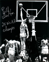 "Bill Walton Signed UCLA 16x20 Photo Inscribed ""2x NCAA Champs"" (JSA COA) at PristineAuction.com"