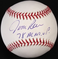 "Jim Rice Signed OML Baseball ""78 AL M.V.P."" (TSC COA) at PristineAuction.com"