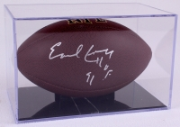 """Earl Campbell Signed Football Inscribed """"HOF 91"""" with Display Case (JSA COA) at PristineAuction.com"""