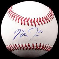 Mike Trout Signed OML Baseball (JSA COA) at PristineAuction.com