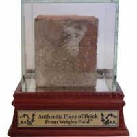 Authentic Brick From Wrigley Field with Display Case (Steiner COA) at PristineAuction.com