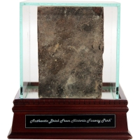 Boston Red Sox Authentic Brick From Fenway Park with Display Case (Steiner COA) at PristineAuction.com