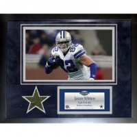 Jason Witten Dallas Cowboys 11x14 Framed Collage with Game-Used Turf (Steiner LOA) at PristineAuction.com